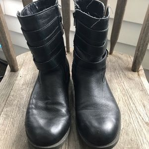 Kenneth Cole Motorcycle Boots